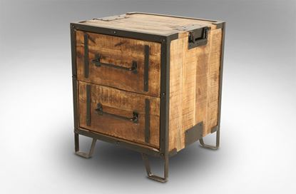 Picture of Cuba 2 Drawer Bedside