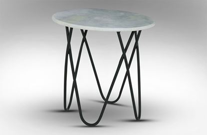 Picture of Taj Marble Side Table White