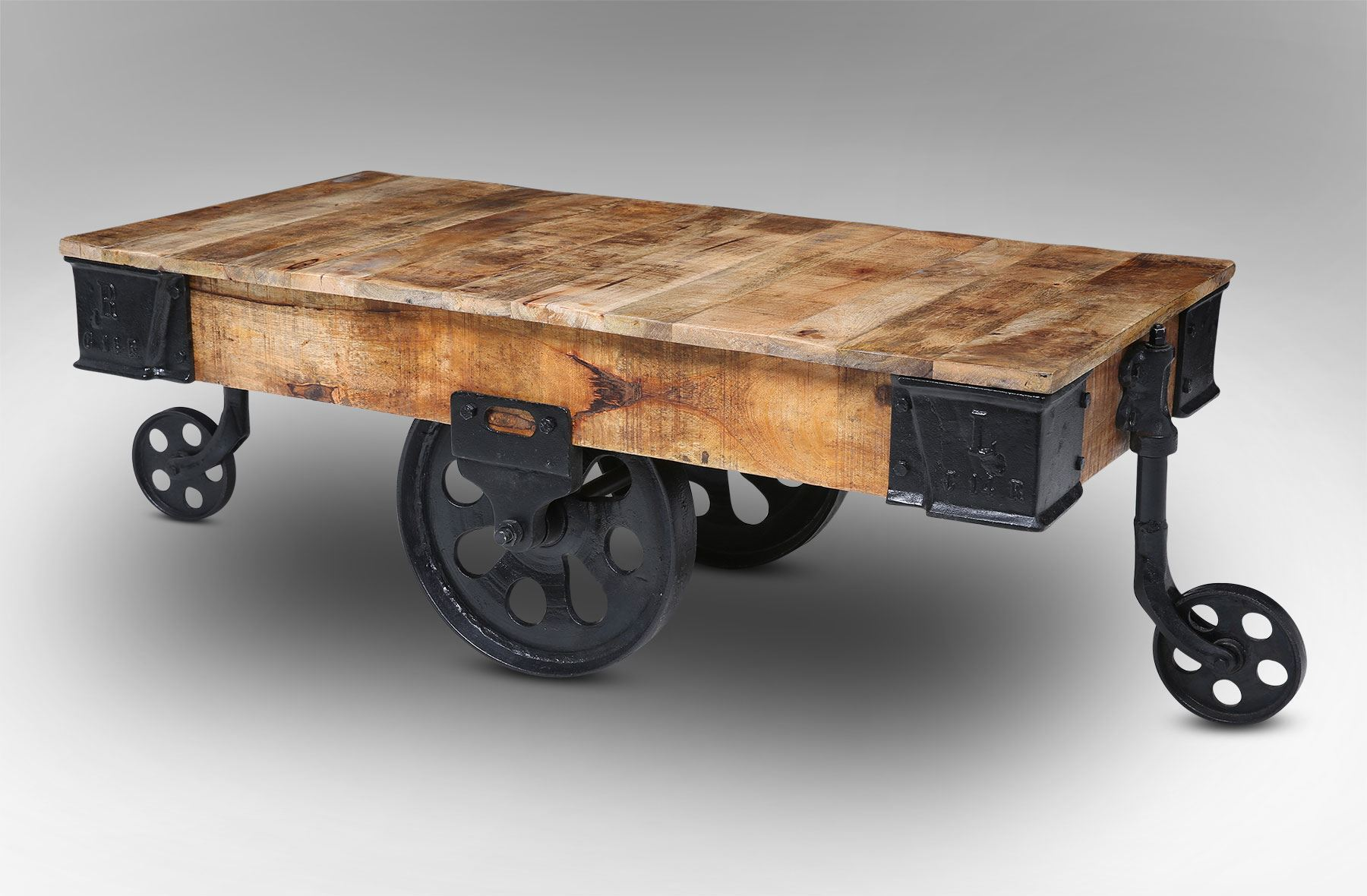 Wagon Cart Coffee Table Rascalartsnyc