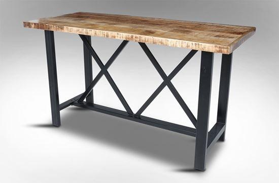 Rice furniture arabian bar table for Table bar escamotable
