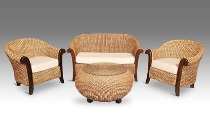 Picture of Java Package - 2 Singles + 2 Seater + C/Table without glass
