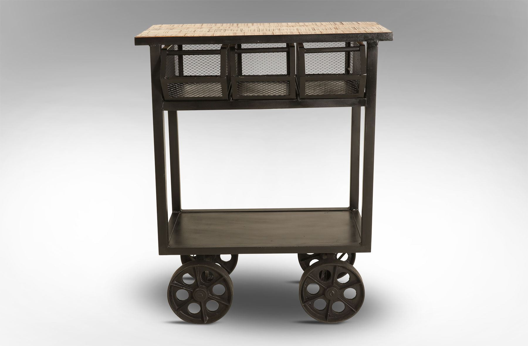 ... Picture Of 3 Drawer Trolley Table
