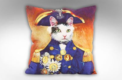 Picture of Admiral Pussy Cushion