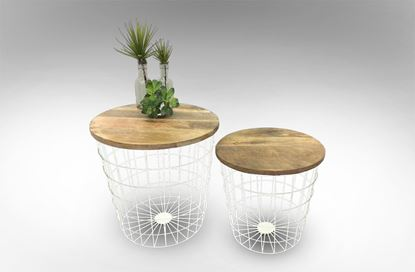 Picture of Airlie Round Side Tables (set of 2)