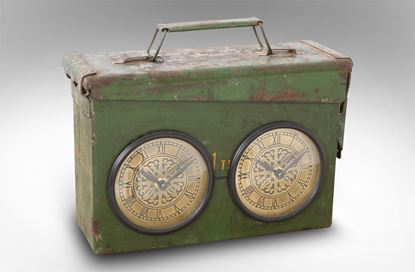 Picture of Army Style Ammo Box Dual Clock
