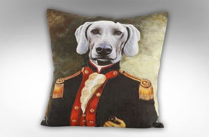 Picture of Baron Weimaraner Cushion
