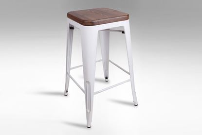 Picture of Vogue Barstool (Vintage White)