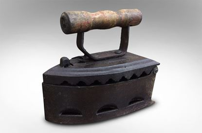 Picture of Vintage Coal Iron