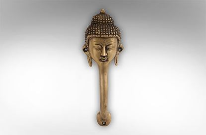 Picture of Brass Buddha Door Handle