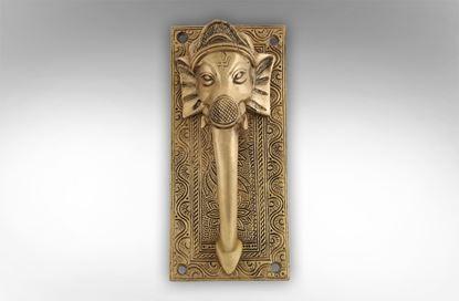 Picture of Brass Elephant Door Handled