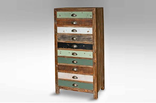 Picture of Brighton 8 Drawer Tallboy
