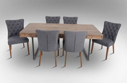 Picture of Brighton Dining Table With 6 Paris Dining Chair