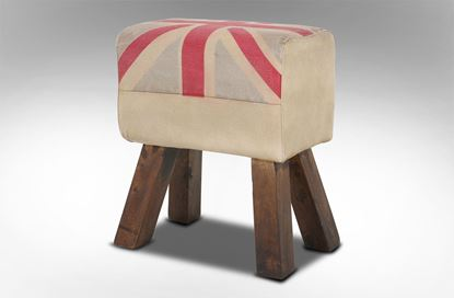 Picture of British Rectangle Stool