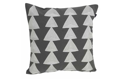 Picture of Buller Cushion Charcoal 43x43cm