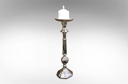 Picture of Candle Holder 41cm Nickel