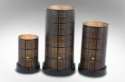 Picture of City Lights Candle Holder Set of 3
