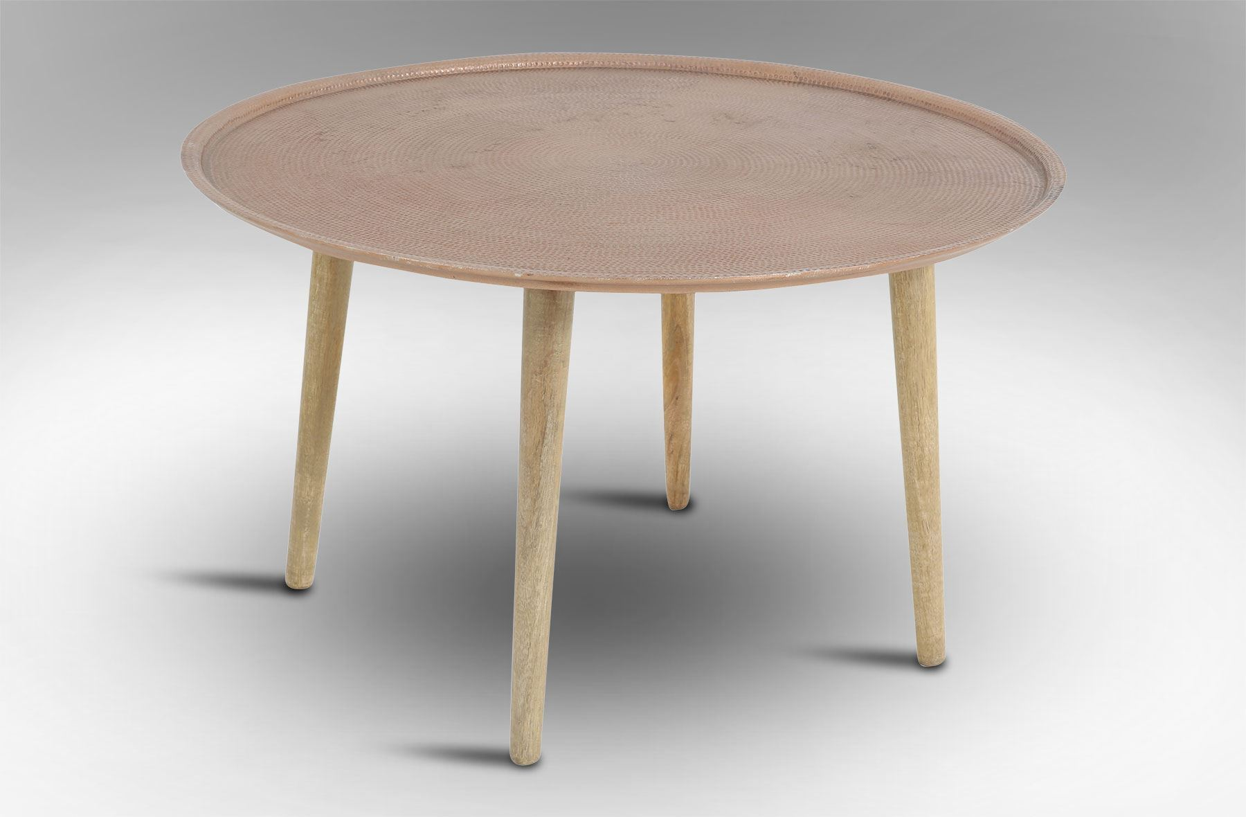 Rice Furniture Crown Coffee Table Copper