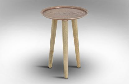 Picture of Crown Side Table Small Copper