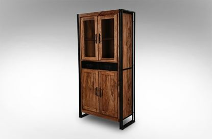 Picture of Zurich 2 Door Glass Cabinet