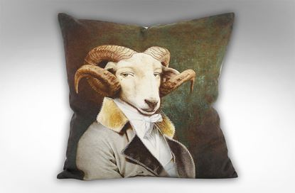 Picture of Colonel Ram Cushion