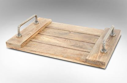 Picture of Colonial Wooden Tray Large