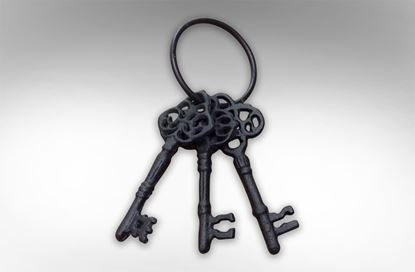 Picture of Decorative Cast Iron Keys