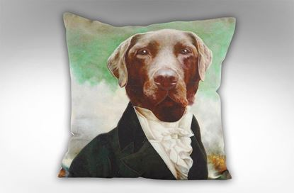 Picture of Duke Labrador Cushion