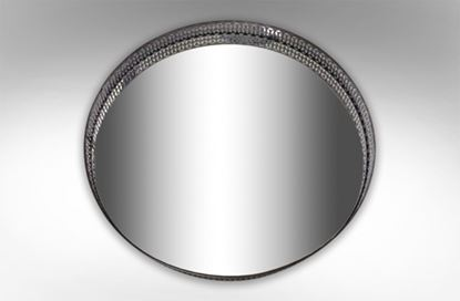 Picture of Elegant Mirror Black 60cm