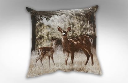Picture of Deer Standing Square Cushion