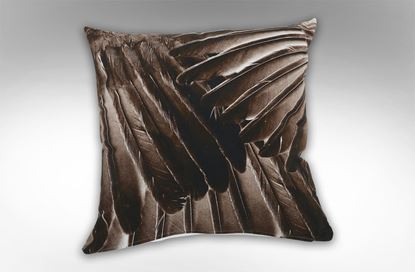 Picture of Feathered Wing Square Cushion