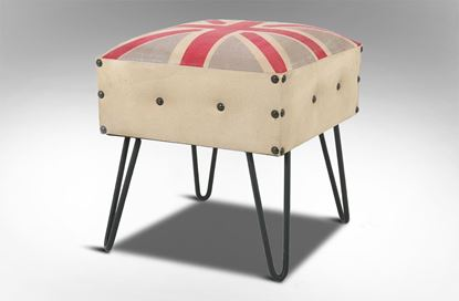 Picture of Great Britain Canvas Stool