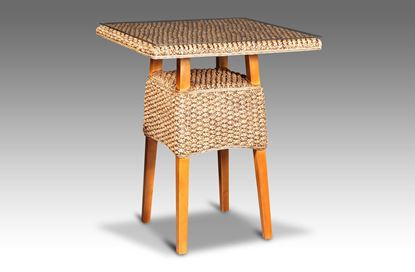 Picture of Java Square Bar Table Honey without glass