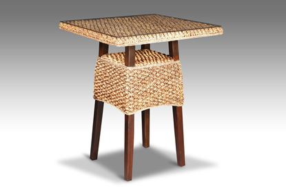 Picture of Java Square Bar Table Mocha without glass