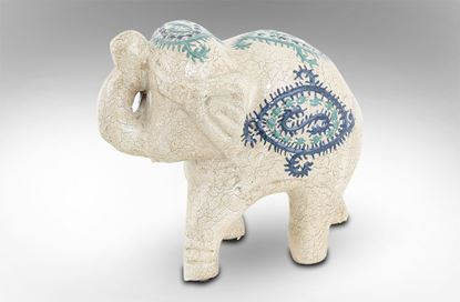 Picture of Kobe Terracotta Elephant Small
