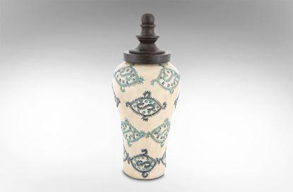 Picture of Kobe Terracotta Jar w/ Lid Large