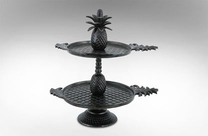 Picture of Pineapple 2 Tier Platter