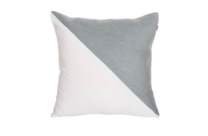 Picture of Portsea Half Cushion Grey 43x43cm
