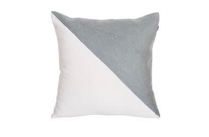 Picture of Portsea Half Cushion Grey 43x43cm