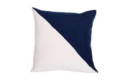 Picture of Portsea Half Cushion Navy 43x43cm