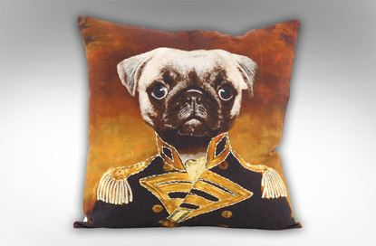 Picture of Sir Pug Cushion