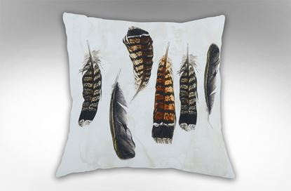 Picture of Six Feathers Square Cushion