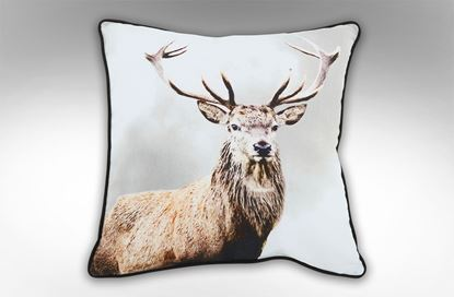 Picture of Reindeer Face Square Cushion