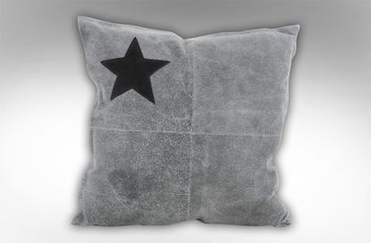 Picture of Star Leather Cushion