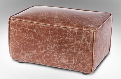 Picture of Stockholme Ottoman Brown