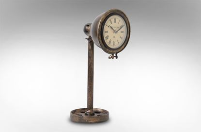 Picture of Iron Lamp Style Clock