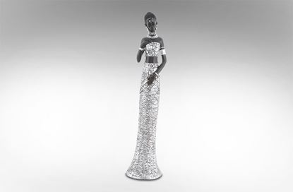 Picture of African Lady Silver