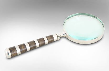Picture of Striped Handle Magnifying Glass