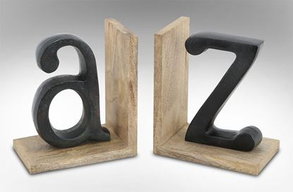 Picture of A-Z Bookends
