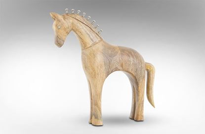 Picture of Vintage Wooden Horse