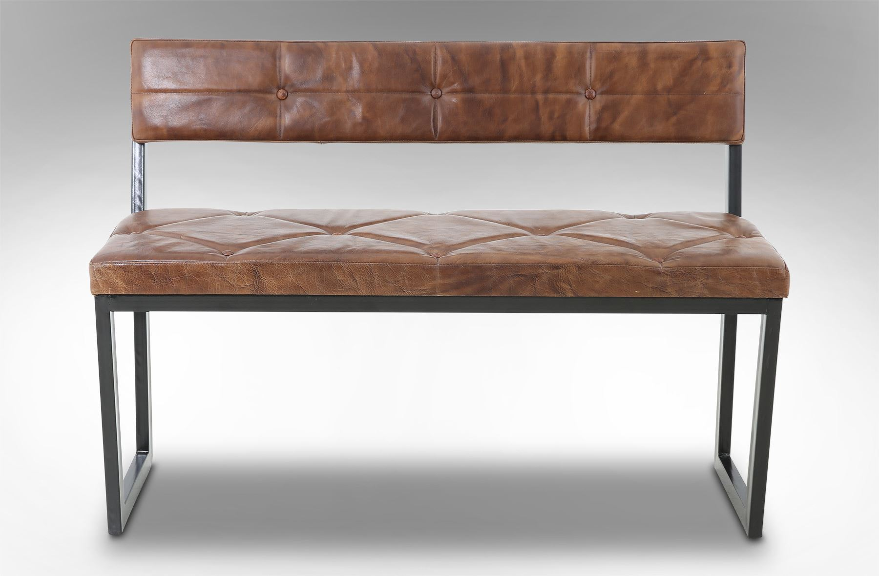 Rice furniture berlin leather bench for Berlin furniture